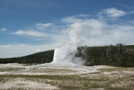 Old Faithful Geyser, Yellowstone NP, WY